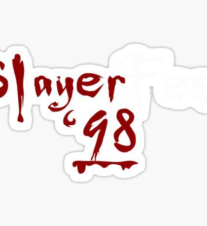 Slayer fest '98 Sticker