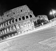 Life Outside The Colosseum by Adrian Alford Photography