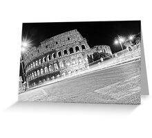 Life Outside The Colosseum Greeting Card