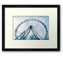 Carousel I. Framed Print