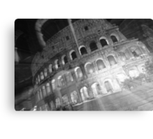 Ghosts Of The Colosseum BW Canvas Print