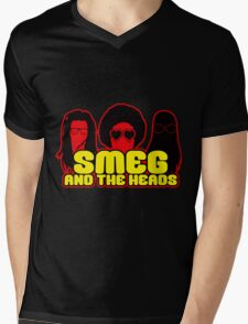 Smeg And The Heads Mens V-Neck T-Shirt