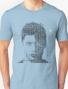 Dean Winchester Typography T-Shirt