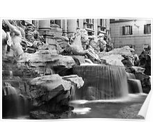 Trevi Fountain Poster