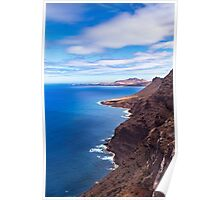 Coastline of Gran Canaria Poster