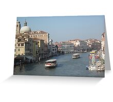Grand canal Greeting Card
