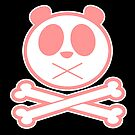 Panda Cross Bone - Pink 2 by Adamzworld