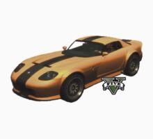 GTA V Yellow car by Missryerye