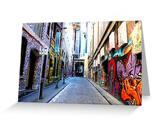Streetwise Greeting Card