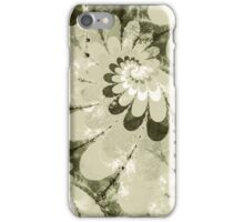 Water Lilies Spirals iPhone Case/Skin