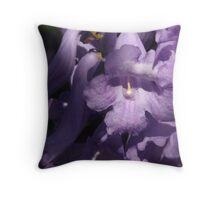 Jacaranda blossom  Throw Pillow