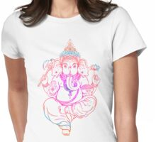 Indian Yoga Womens Fitted T-Shirt