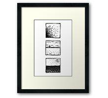 Triple graphics Framed Print