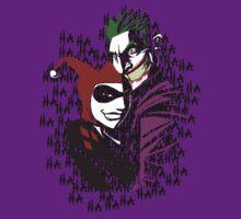 Joker and Harley by kalilak