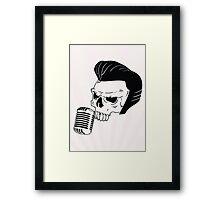 Skull n' Tones Framed Print