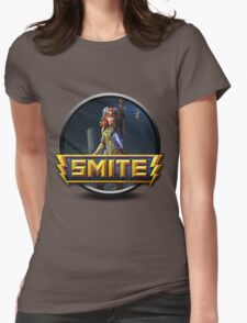 Smite Artemis Logo Womens Fitted T-Shirt