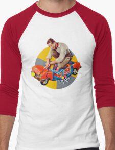 mr-fixit Men's Baseball ¾ T-Shirt