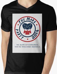 The Mars Party 2014 Mens V-Neck T-Shirt