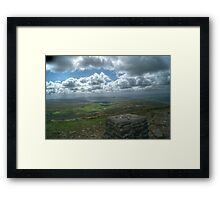 View from Pen-y-ghent Framed Print