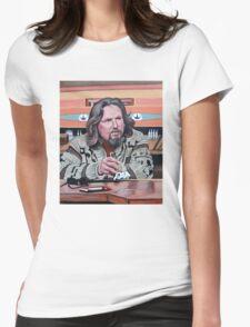 Jeffrey Lebowski Womens Fitted T-Shirt
