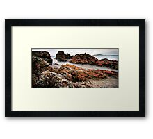 Tasmania Green Point Framed Print
