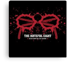 The Hateful Eight 2015 recap from the living reading Canvas Print