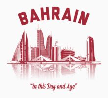 Bahrain Skyline One Piece - Long Sleeve