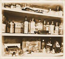 Antique Bottles by tvlgoddess