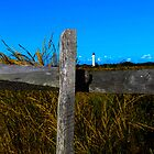 Fenced Lighthouse by MattyBoh424