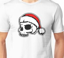 Santa Skull Christmas Unisex T-Shirt