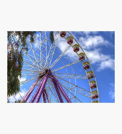 The Big Wheel Photographic Print