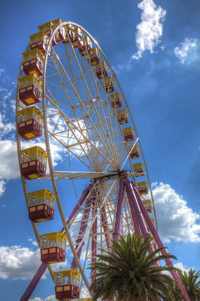 The Big Wheel 2 by Roger Green