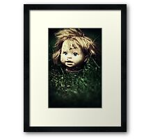 If the ground could talk Framed Print