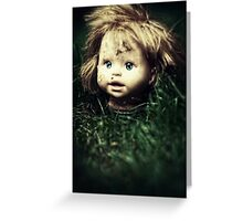 If the ground could talk Greeting Card