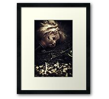 If the ground could talk ii Framed Print