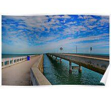 Overseas Highway Florida Keys Poster