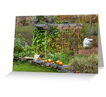Autumn in Washington, NH Greeting Card