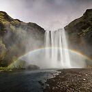 Waterfall and the Rainbow by Marzena Grabczynska Lorenc