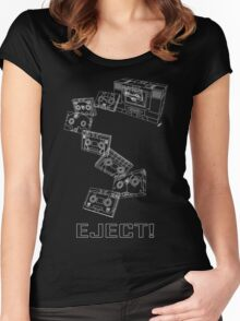 Soundwave: Eject! (schematic) Women's Fitted Scoop T-Shirt