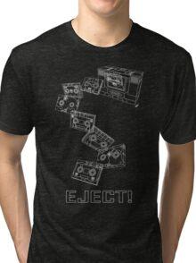 Soundwave: Eject! (schematic) Tri-blend T-Shirt