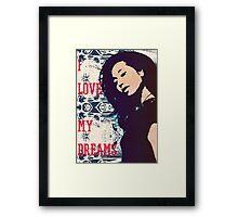 Beautiful Diva Framed Print