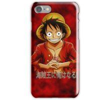 Monkey D. Rufy iPhone Case/Skin