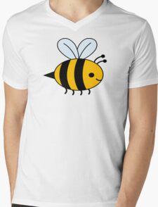 Big Bee Mens V-Neck T-Shirt