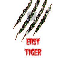 Easy tiger by M1SPLAC3D