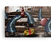 Mary Jane and the Metal Blue Jeans Metal Print