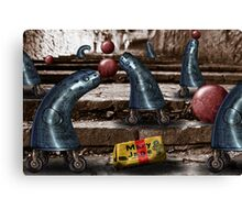 Mary Jane and the Metal Blue Jeans Canvas Print