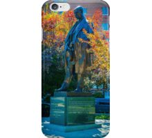 Tomas Garrigue Masaryk Statue iPhone Case/Skin