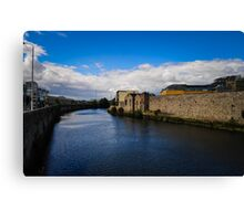 River in Dublin, Ireland Canvas Print