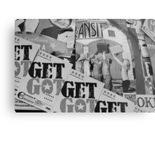 Advertising - Edinburgh Fringe 2013 Metal Print
