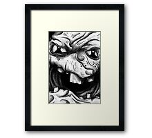 Rogues Gallery - Clayface Framed Print